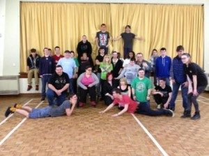 Princes Trust join zumba